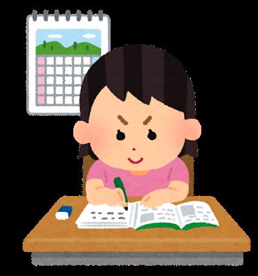 中学生の自宅学習