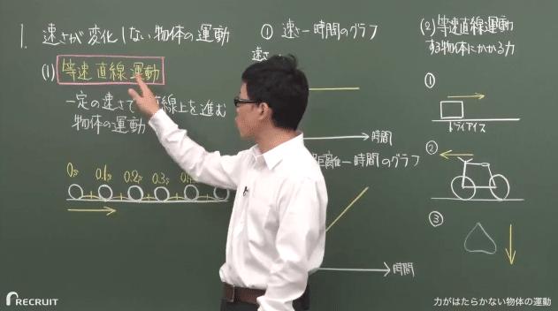 スタディサプリ理科基礎の授業